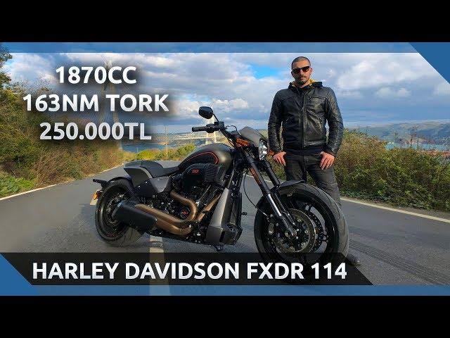 Harley Davidson FXDR 114 - En Hızlı Harley Davidson