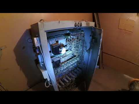 Как устроено машинное помещение лифта.