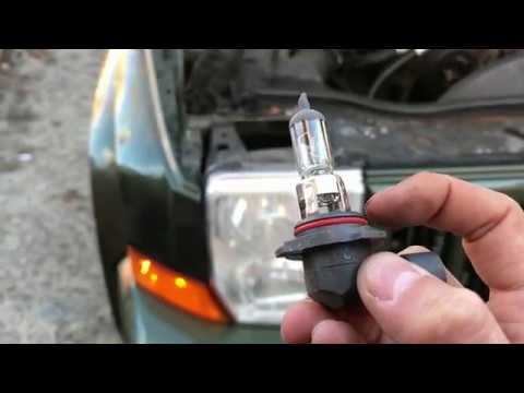 How To Change Headlight Bulb Jeep Commander