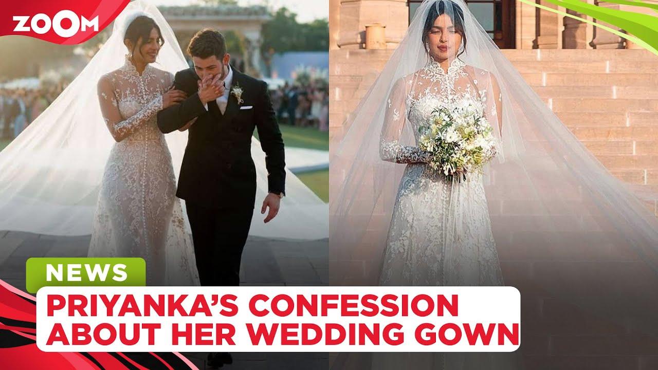 Priyanka Chopra Jonas REVEALS a shocking & unknown fact about her wedding gown