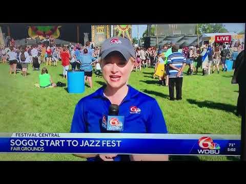 ON THE NEWS: JAZZ FEST RUSSELL BATISTE & SONS FT CASME'!