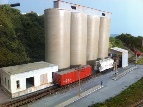 Model Railroads / Model Trains: Make your own CEMENT PLANT!!