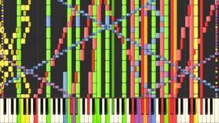 [Black MIDI] Synthesia – Carol of the Bells (Trans-Siberian Orchestra) 191,000 ~ BusiedGem