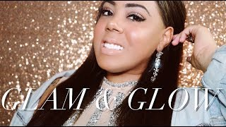 """Glam & Glow """"30 Second Makeup Routine"""" With @Maybelline's #TotalTemptation Mascara!"""