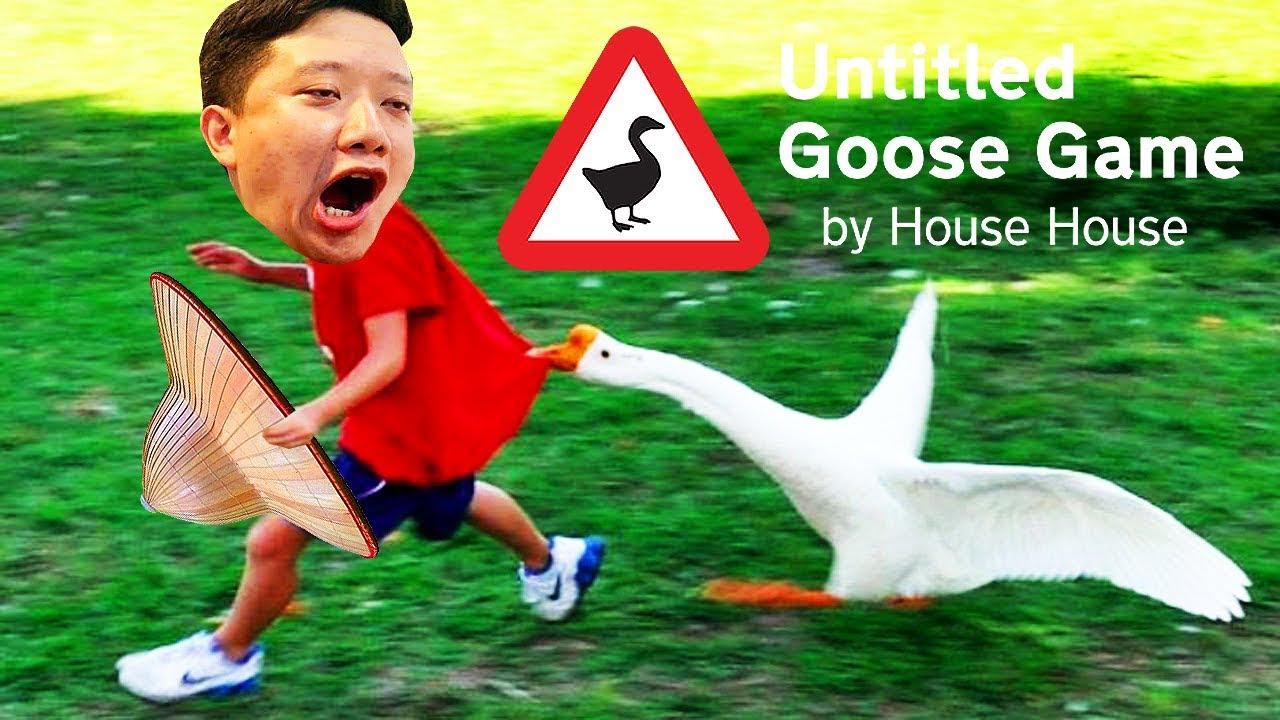 CHƠI THỬ GAME GIẢ LẬP LÀM CON NGỖNG TRÊU LOÀI NGƯỜI =)))) - Untitled Goose Game