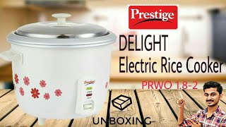 Prestige Delight Electric Rice Cooker (PRWO 1.8-2) Unboxing