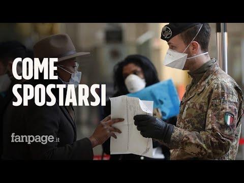 Coronavirus, Italia zona protetta: quando si può uscire di casa e come funziona l'autocertificazione