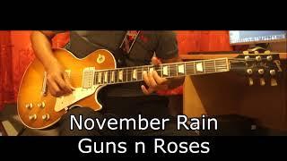 November Rain - GnR Guitar Solo Cover