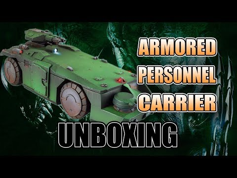 How Cool is the 28mm Aliens APC Transport: Resin Review