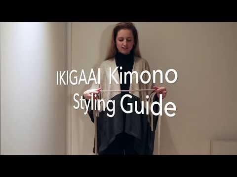 IKIGAAI Kimono Styling Guide