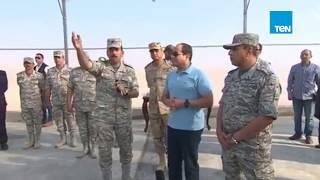 ختام أسبوع حافل للسيسي.. الرئيس يزور قاعدة جوية ويتفقد مشروع مستقبل مصر الزراعي