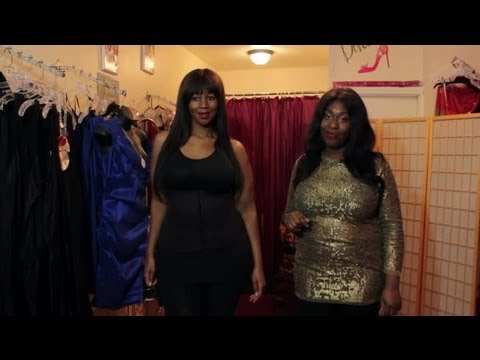 dbf32320e79d How to Dress to Hide Fat : Plus-Sized Fashion Advice - YouTube