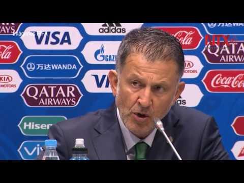 Técnico Juan Carlos Osorio se dice satisfecho por juego de México