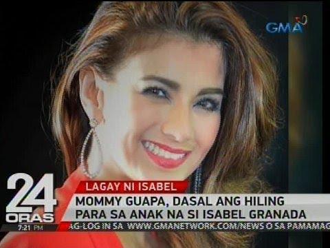 Exclusive: Mommy Guapa, dasal ang hiling para sa anak na si Isabel Granada