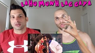Lahu Munh Lag Gaya | Full Video Song | Goliyon Ki Rasleela Ram-leela [REACTION]