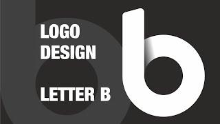 B Harfi Logo Tasarımı   COREL Oluşturma