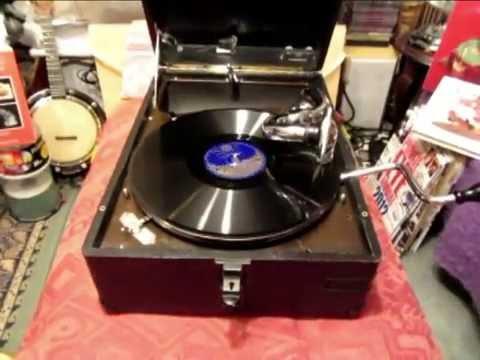 Trains - Reginald Gardener - Monologue - 78 rpm - HMV 102