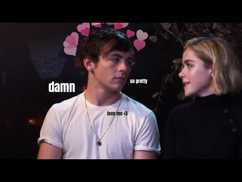 ross lynch falling in love with kiernan shipka for 8 mins straight