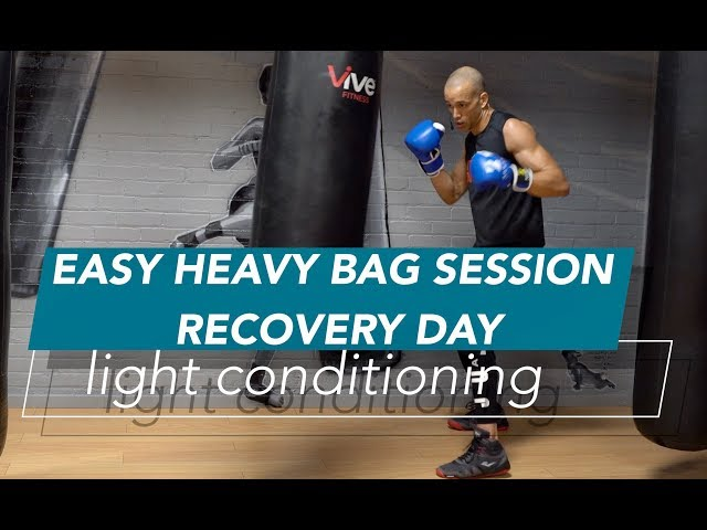 Easy Heavy Bag Boxing Workout Punch Numbers Review Nate Bower Fitness