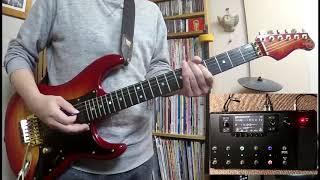 TOTO Rosanna guitar cover スティーブルカサー風に/Line6 Helix LT/撮影ZOOM Q2n/Valley Arts
