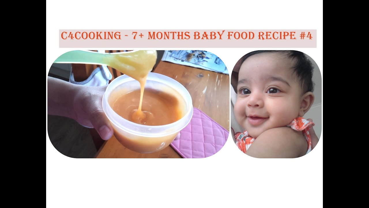 7 Months Baby Food Recipe 4