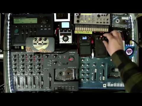 SUITCASE OF DRONE | LIVE AMBIENT TAPE LOOP SETUP