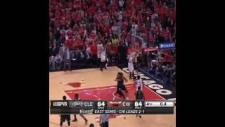 What a buzzer beater of NBA playoffs