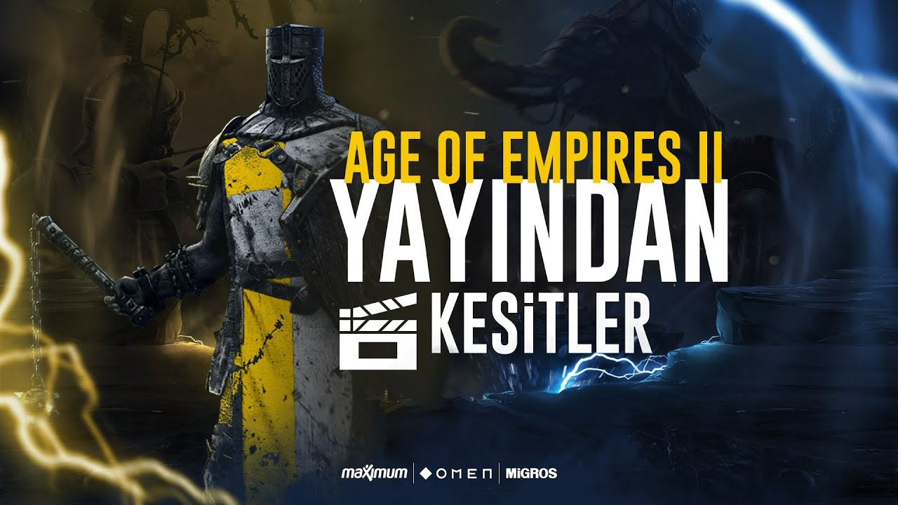 Age of Empires II DE | 4v4 Ranked | FB Kasva | Yayından Kesitler #4