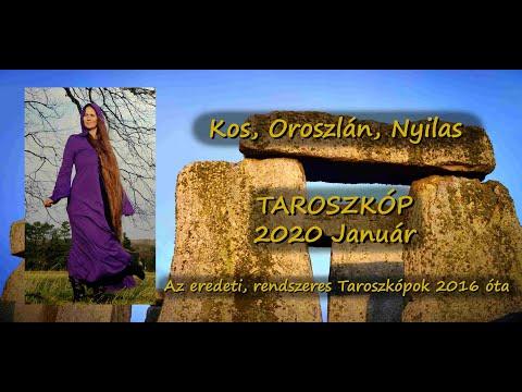 KOS, OROSZLÁN, NYILAS Taroszkóp 2020 JANUÁR
