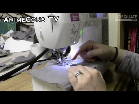 AnimeCons TV Cosplay Sewing Techniques YouTube Gorgeous Good Sewing Machine For Cosplay