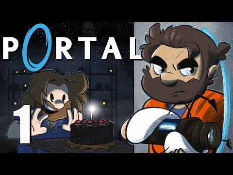 Portal | Let's Play Ep. 1 | Super Beard Bros.