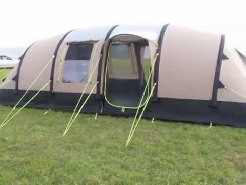 K&a Southwold 8 AirFrame Tent - External - .outdoormegastore.co.uk  sc 1 st  YouTube & Kampa Southwold 8 AirFrame Tent - External - www.outdoormegastore ...