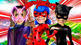 ENTRAMOS NO MUNDO DA LADYBUG E DO CAT NOIR (Miraculos Roleplay)