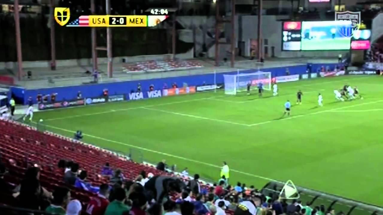 Mexico U23 vs. United States U23 - Football Match Report - March ...