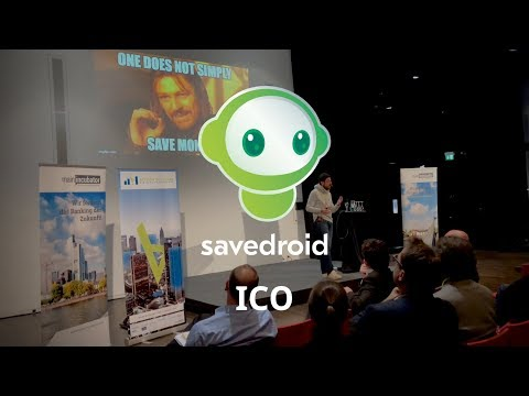 savedroid ICO Pitch by Yassin - Cryptocurrencies for Everyone