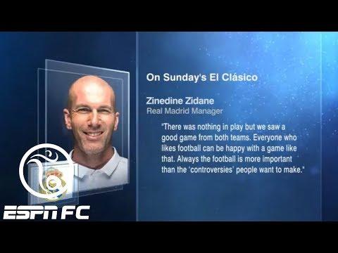 Did the referee cost Real Madrid the win vs. Barcelona in El Clasico?   ESPN FC
