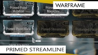 Warframe Prime Streamline.