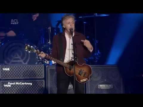 Paul McCartney  'Come On To Me' ACL Music Festival 2018 HD