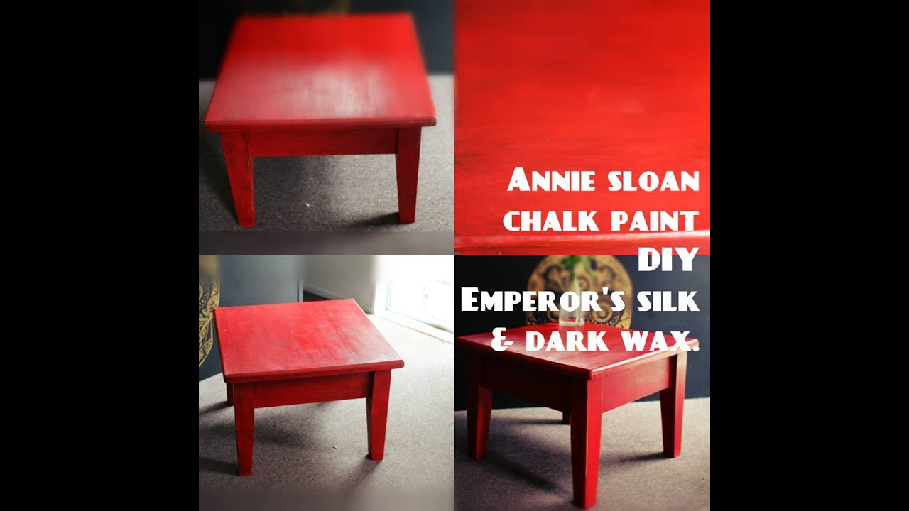 Annie Sloan Chalk Paint Emperors Silk W Clear Dark Wax