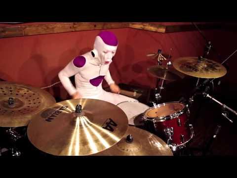 【Drum Cover】FREEZER PLAYING THE 「CHA-LA HEAD-CHA-LA 」フリーザがCHA-LA HEAD-CHA-LAを叩いてみた