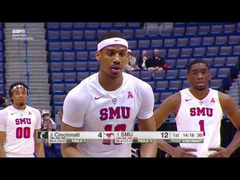 SMU vs Cincinnati AAC tournament