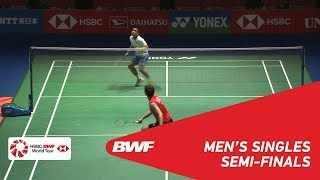 SF | MS | LEE Dong Keun (KOR) vs Khosit PHETPRADAB (THA) | BWF 2018