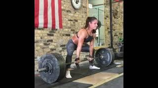 Amazing Crossfit Athlete - Heavy Deadlift Workout #shorts