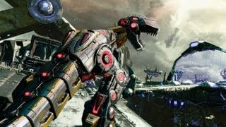 DLC Trailer - Official Transformers: Fall of Cybertron Video (Dinobots vs. Insecticons)