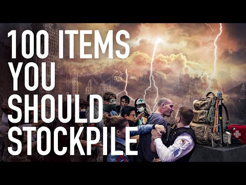 100 Non Food Items You Should Stockpile To Prepare For The Imminent Economic Collapse