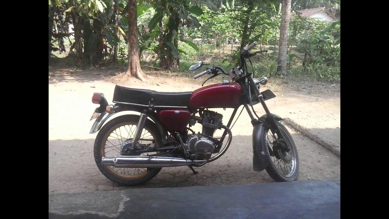 Video Modifikasi Motor Honda Cb100 Basis Gl125 YouTube