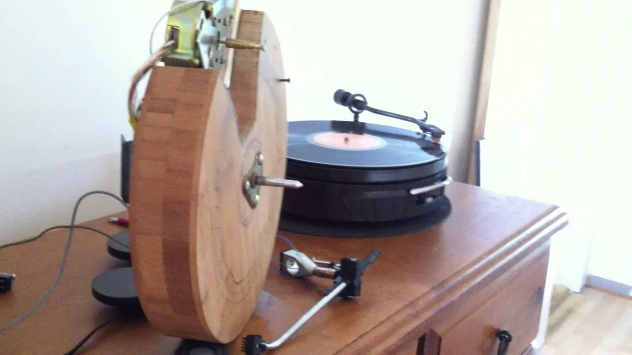 Pearl Jam Vinyl Record On My Home Made Turntable Diy