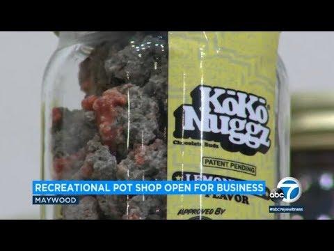 24,000-square-foot marijuana dispensary opens in Los Angeles County | ABC7