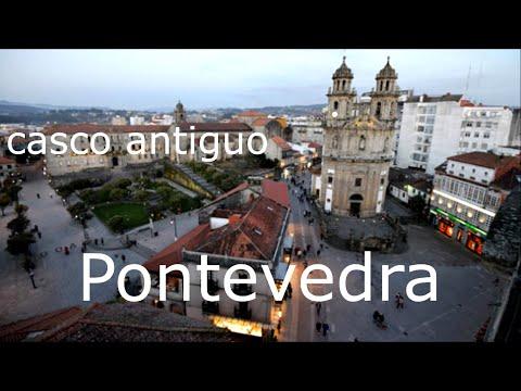 DESCUBRIENDO RINCONES DE GALICIA. casco antiguo de Pontevedra