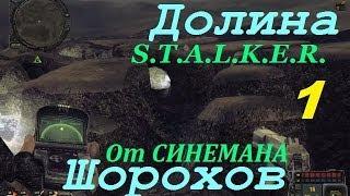 Прохождение мода Долина Шорохов - 1 серия - Флешка Артефакт и Аномальное Растение